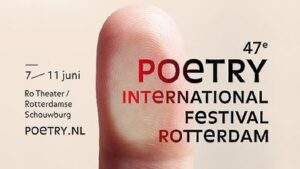Poetry International Festival Rotterdam 2016