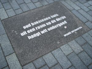 haiku Rotterdam Arnold Vermeeren