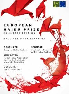 European Haiku Prize 2016 Logo