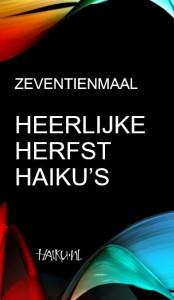 Zeventienmaal Heerlijke Herfst Haiku's_voorpagina