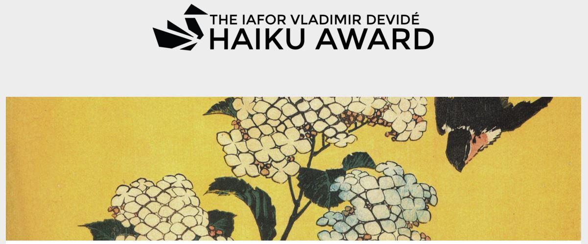 Iafor Vladimir Devidé Haiku Award 2016