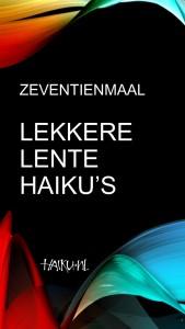 Zeventienmaal Lekkere Lente Haiku's voorpagina