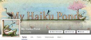 My Haiku Pond Facebook Visual