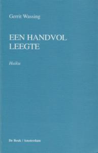 Gerrit Wassing - Een handvol leegte