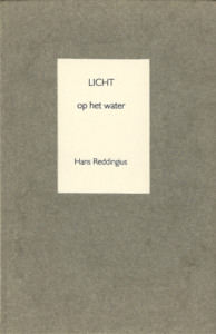 Licht op het water - Hans Reddingius