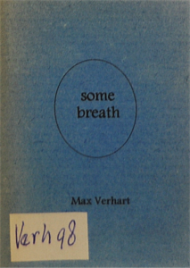 Some breath - Max Verhart